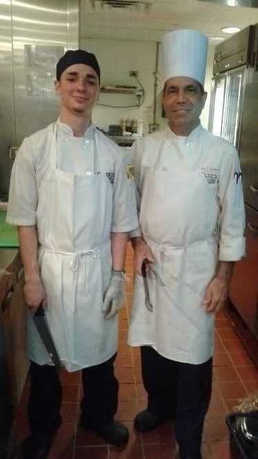 Nick and Chef Carlos