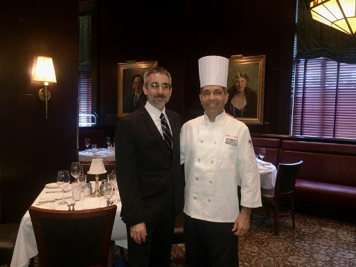 Chef Carlos J Gutierrez & FOH Manager Paul De Mezza