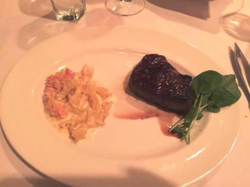 Dinner at Capital Grille 2015