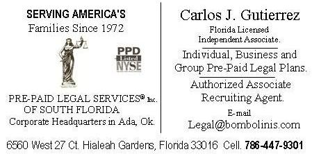 Licemsed Independent Associate of PPL South Florida