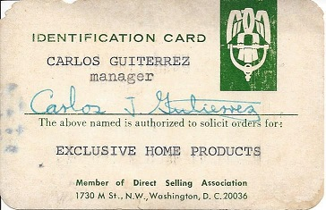 Carlos J Gutierrez Manager Exclusive Home Products