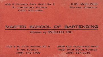 Carlos J Gutierrez @ Master School of Bartending
